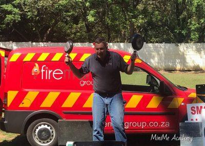 Fireman visit at MiniMe 10