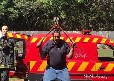 Fireman visit at MiniMe 13