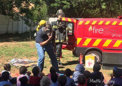 Fireman visit at MiniMe 14