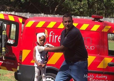 Fireman visit at MiniMe 4