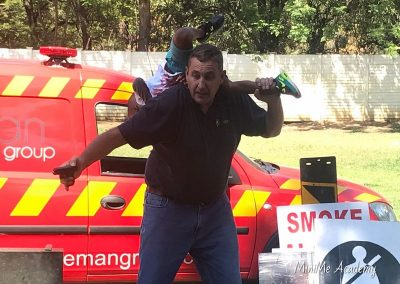 Fireman visit at MiniMe 8